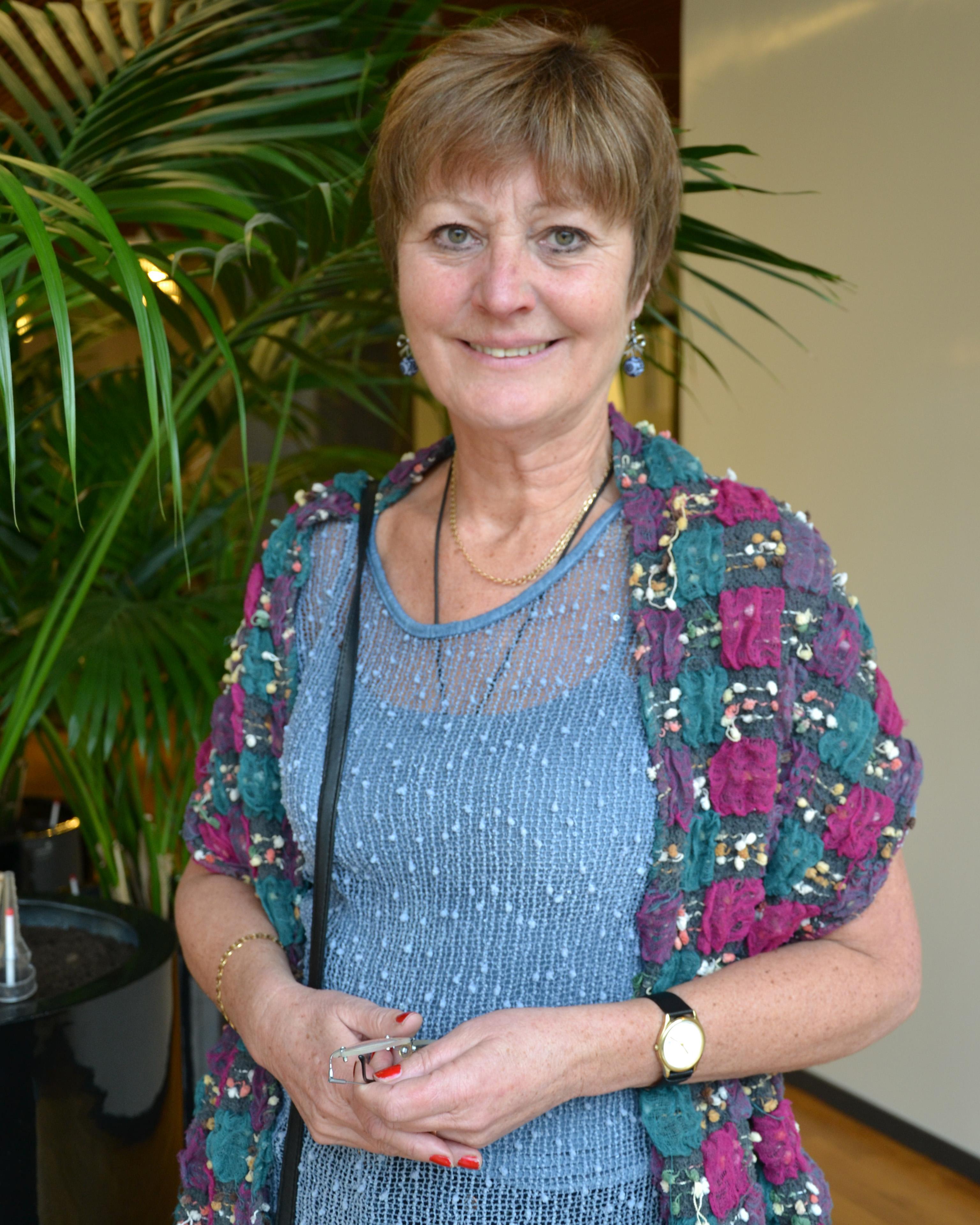 Annette Holmqvist.
