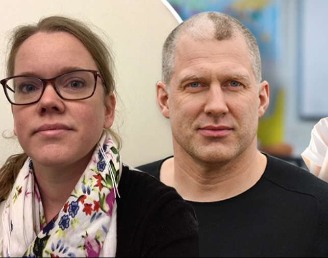 Åsa Plesner och Marcus Larsson på Tankesmedjan Balans.