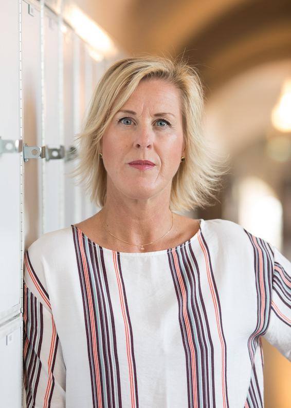 LR:s ordförande Åsa Fahlén. Foto: Jennifer Glans.