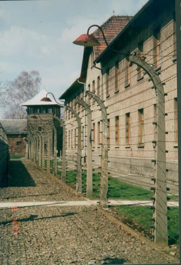 Koncentrationslägret Auschwitz.