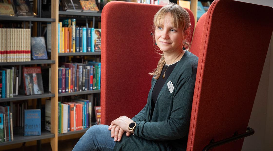 """""""Det är ingen rocket science, men det fungerar"""", säger Karin Herlitz om sina metoder."""