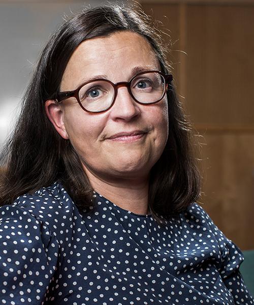 Utbildningsminister Anna Ekström