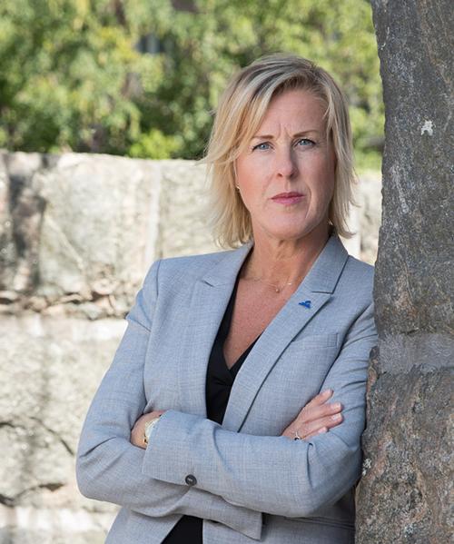 Åsa Fahlén, ordförande för Lärarnas Riksförbund