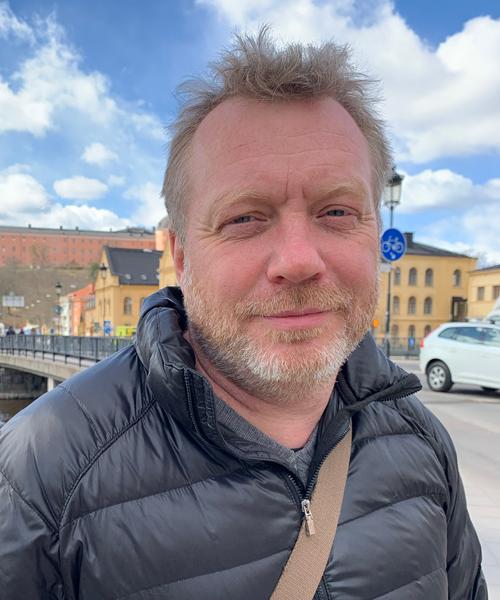 Henrik Ljungblom, rektor på Nannaskolan