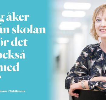 Cecilia Jalkebo, lärare i EskilstunaFoto Jonas Bilberg