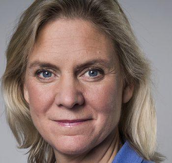 Magdalena Andersson Finansminister Finansdepartementet Statsråd