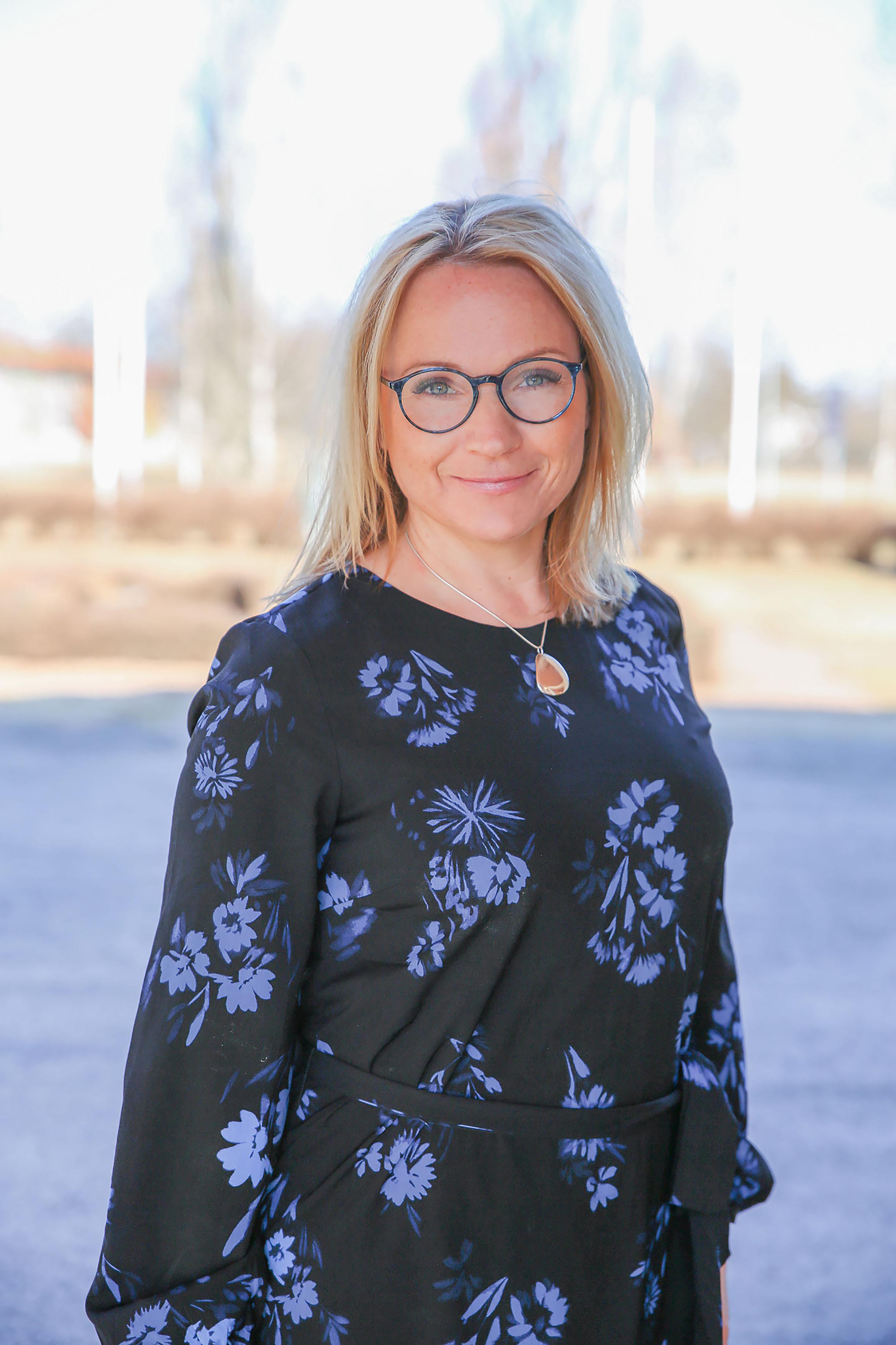 Monica Lundin (L), ordförande barn-och utbildningsnämnden. Foto: Ulrika Eriksson Lundholm.