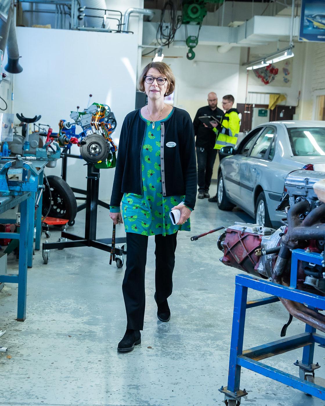 Agneta Halvares Palmqvist har arbetat som specialpedagog ett decennium.