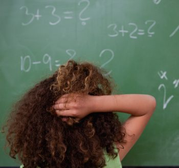 Matematik, matte, elev, funderar, grunskola