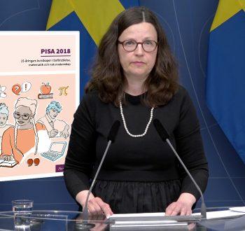 Anna Ekström Pisa 2018
