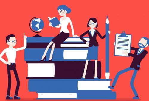 lärare illustration