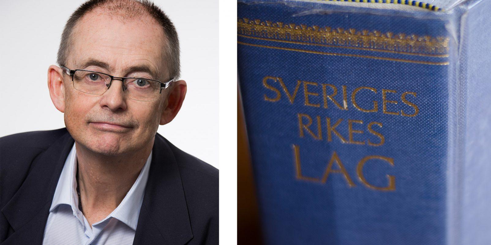 Sten Hagberg, Sveriges rikes lag
