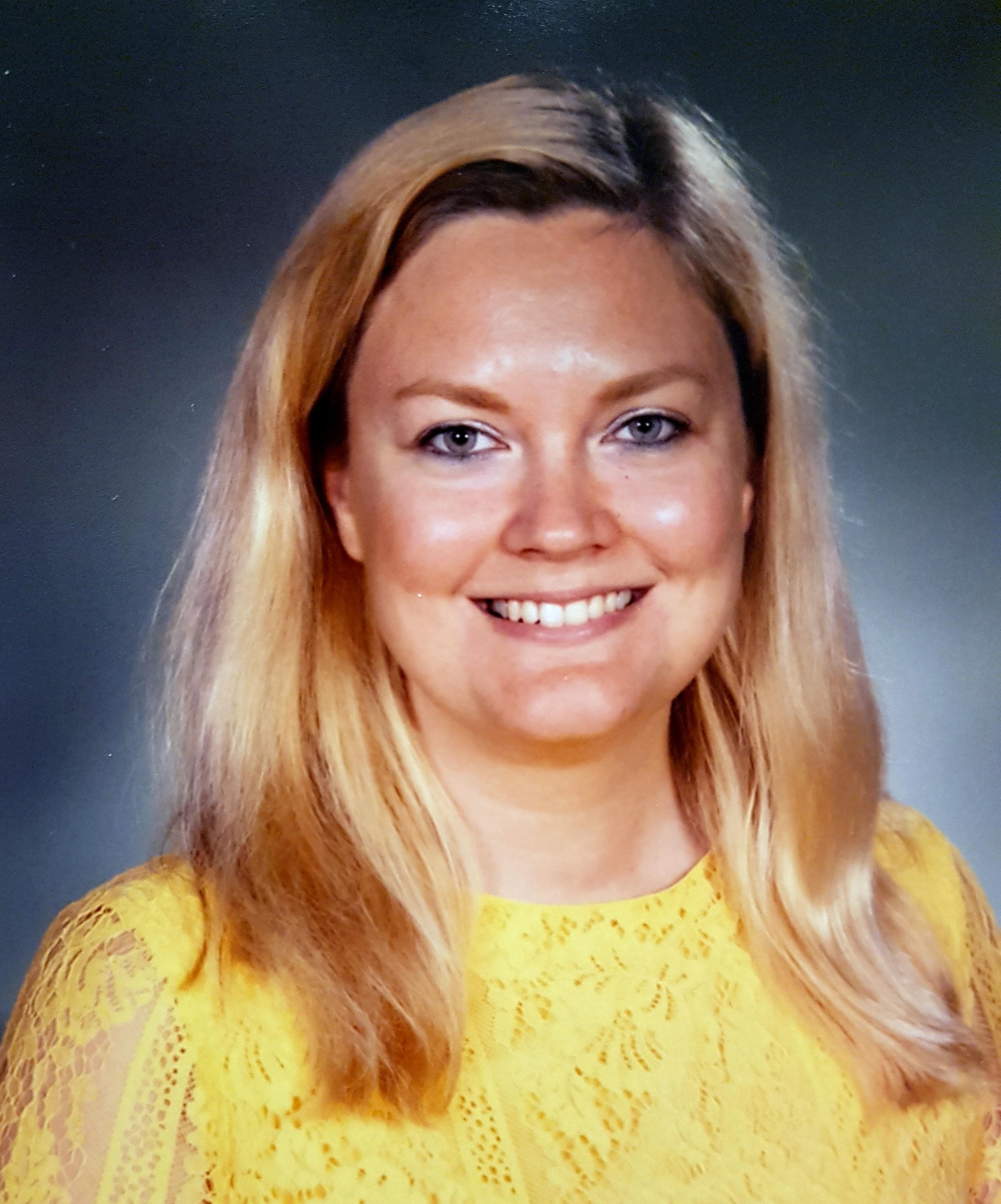 Jessica Fryksten är ordförande för LR inom IES
