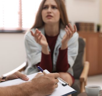 Skyddsombud, samtal, terapeut, anteckningar