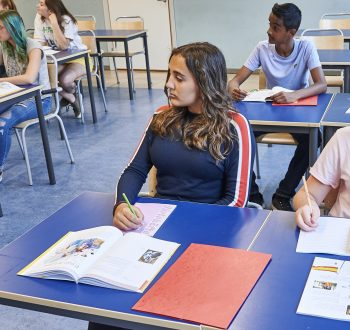 Klassrum elever spanska norra real