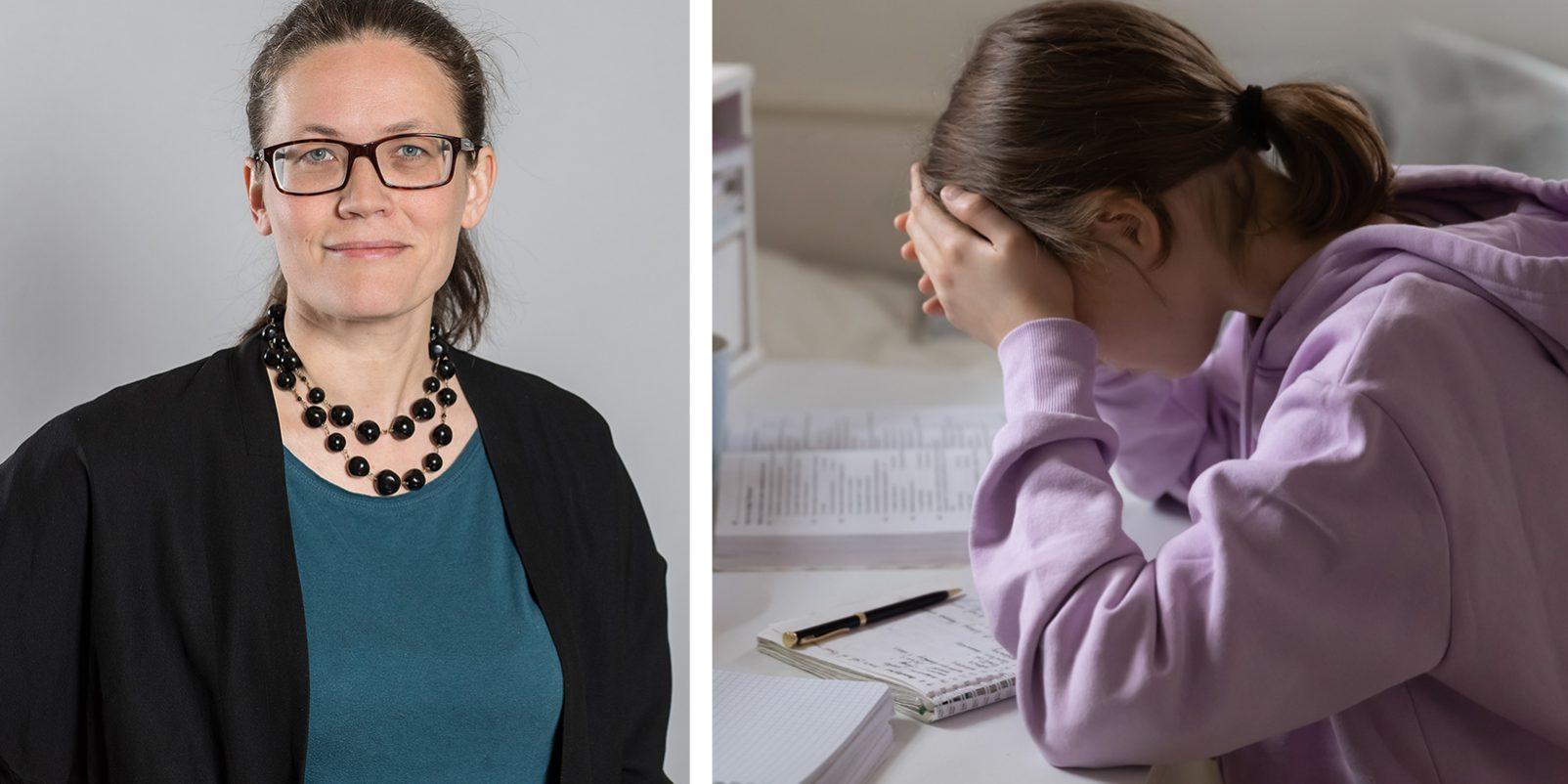 nna Castberg, enhetschef för utredningsenheten på Skolverket och elev som studerar hemifrån.
