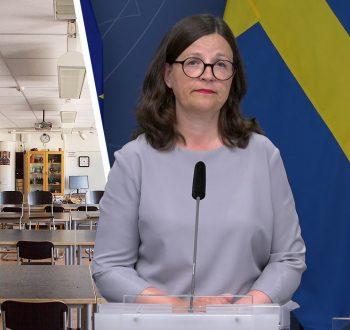 Anna Ekström tomt klassrum