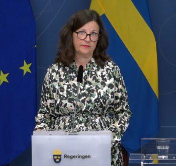 Anna Ekström vaccin