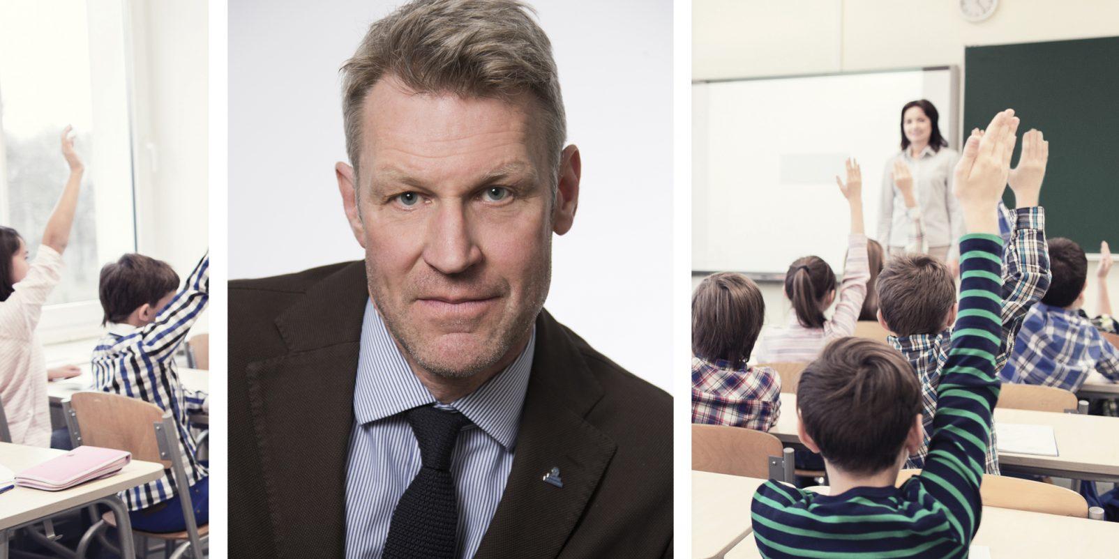 Svante Tideman, klassrum