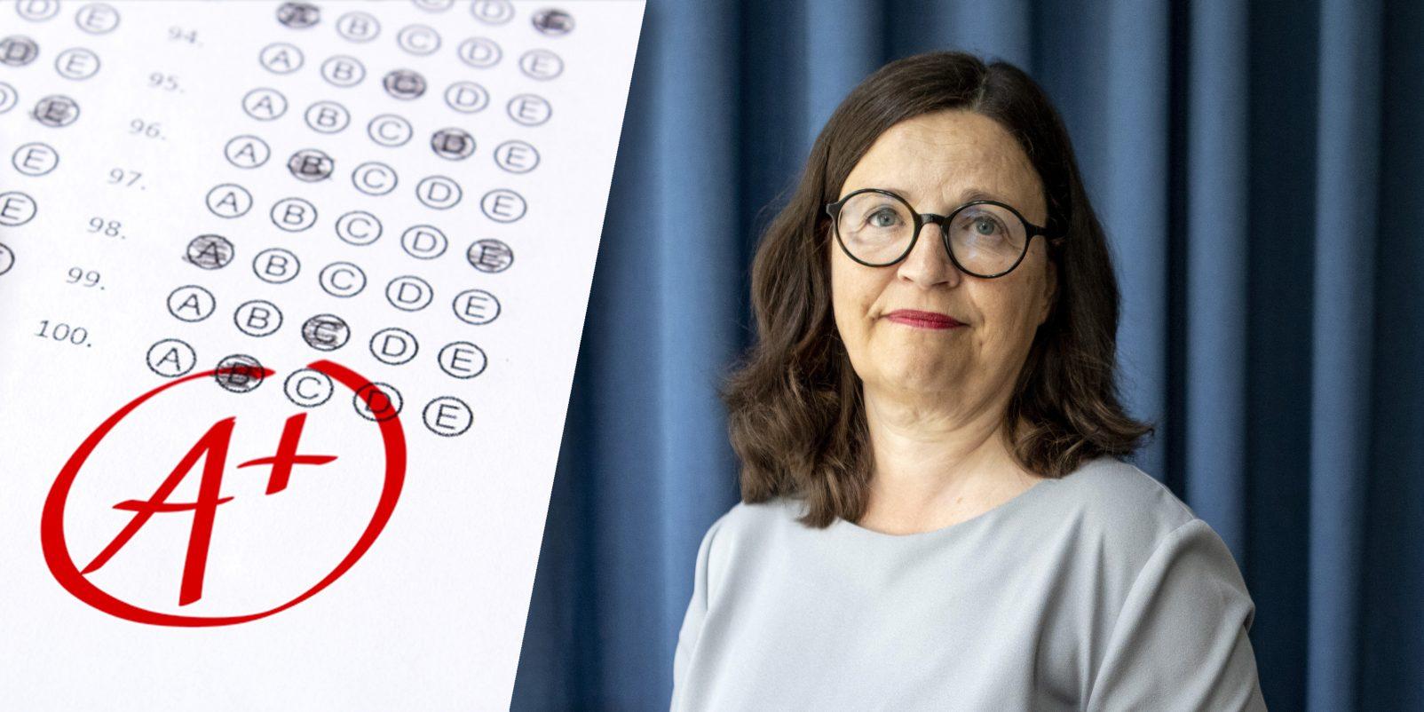 Anna Ekström, betyg