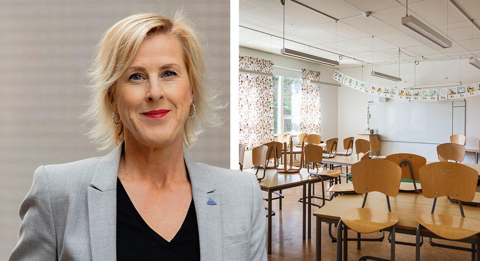 Åsa Fahlén klassrum