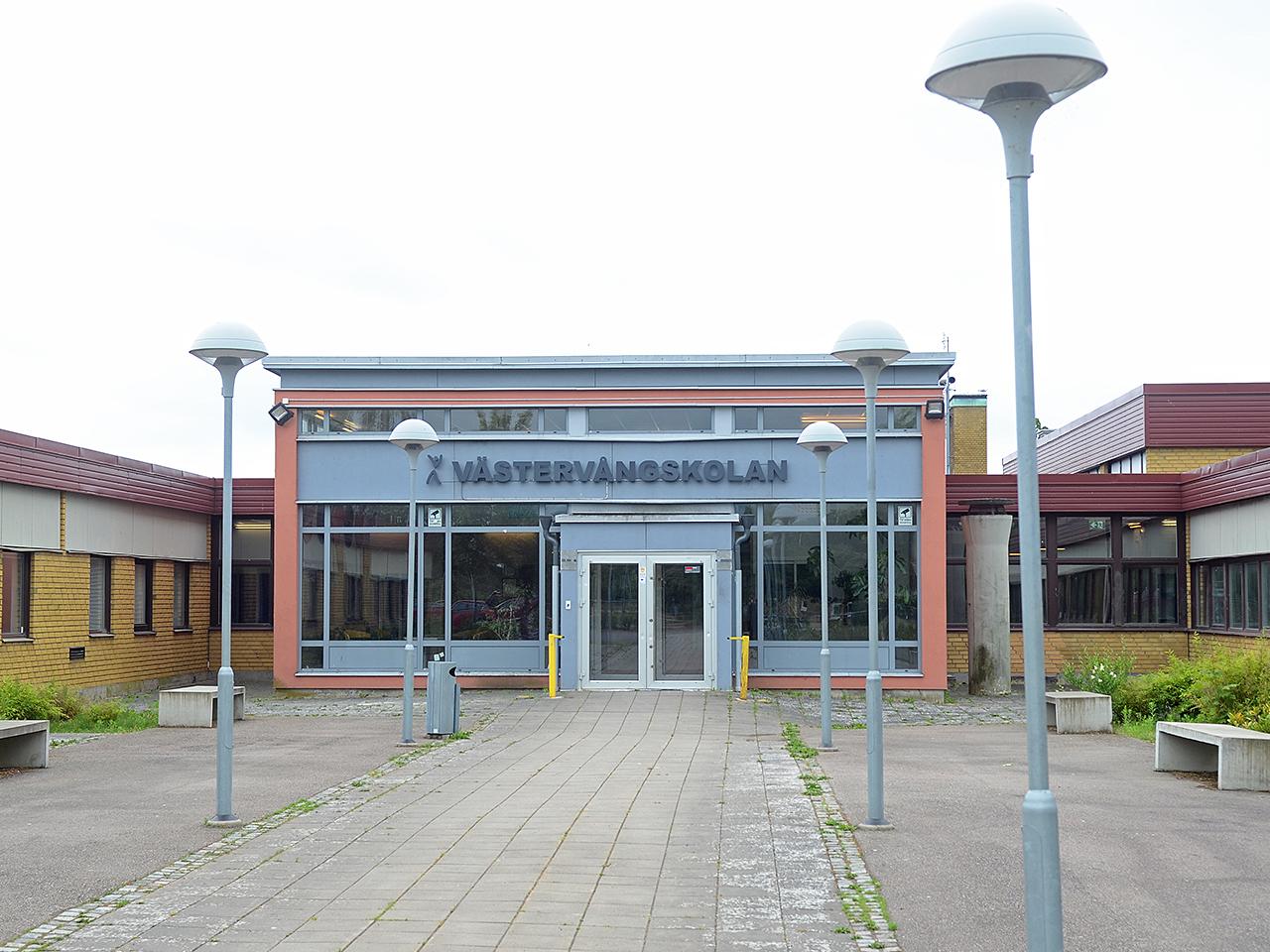 Västervångskolan duobild