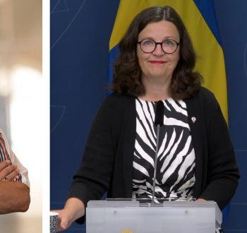 Anna Ekström Åsa Fahlén 10 sep