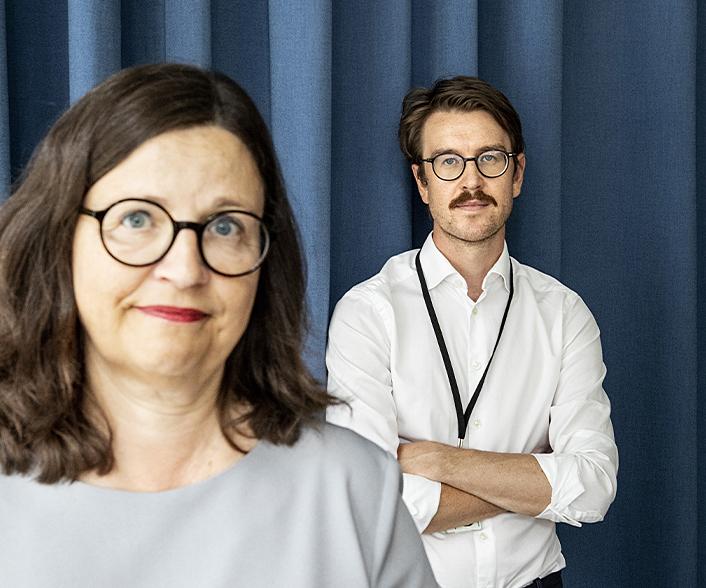 Anna Ekström och Petter Ådahl