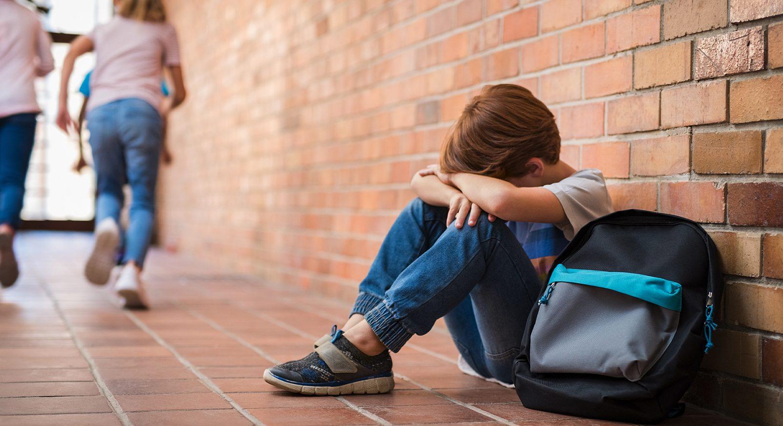 Ledsen elev