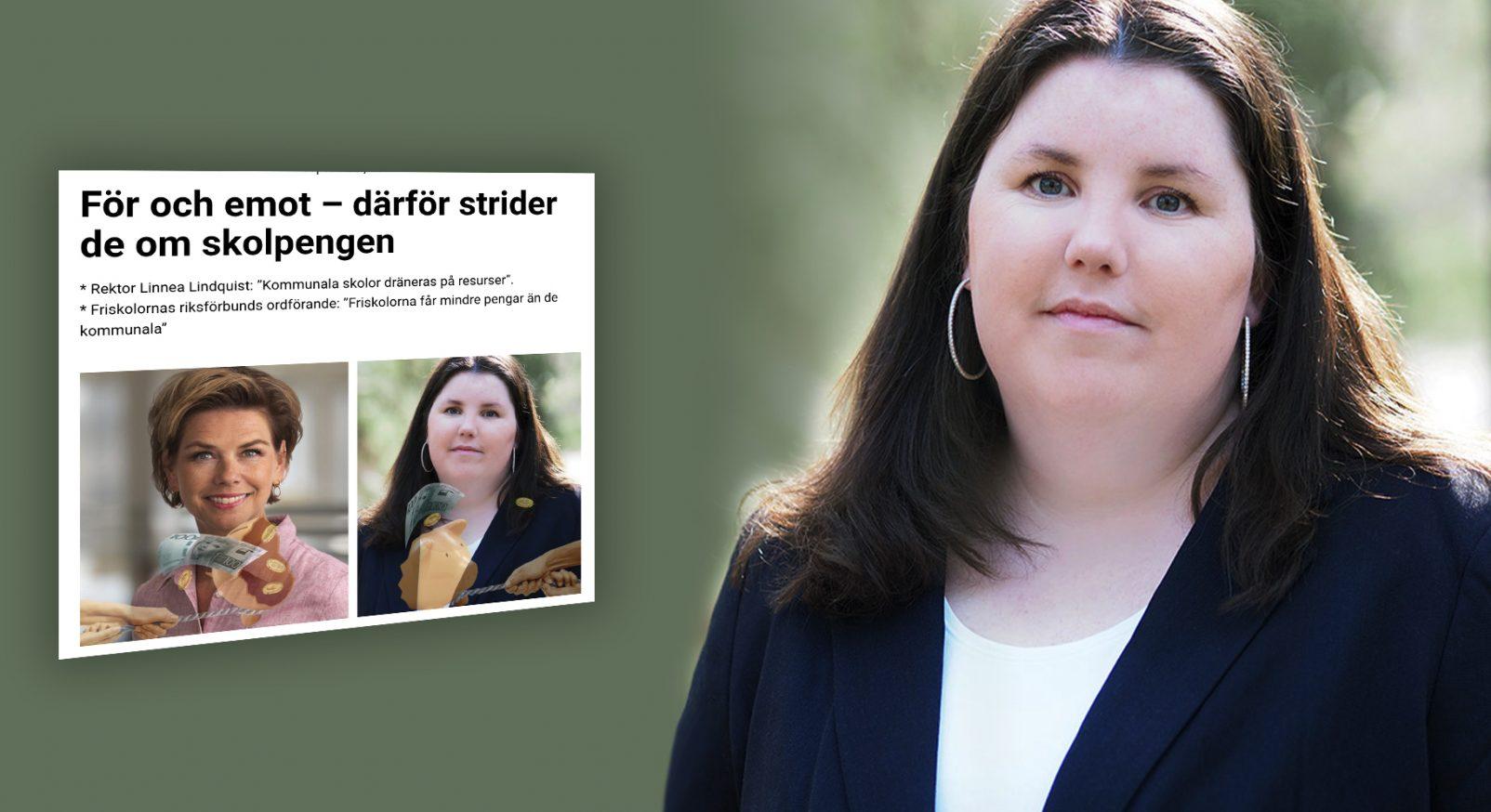 Linnea Lindquist debatt