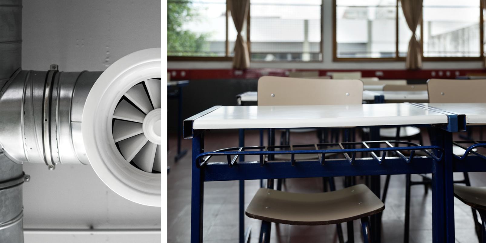 Ventilation Klassrum
