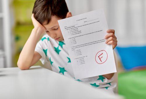 Betyg, f, elev, misslyckad