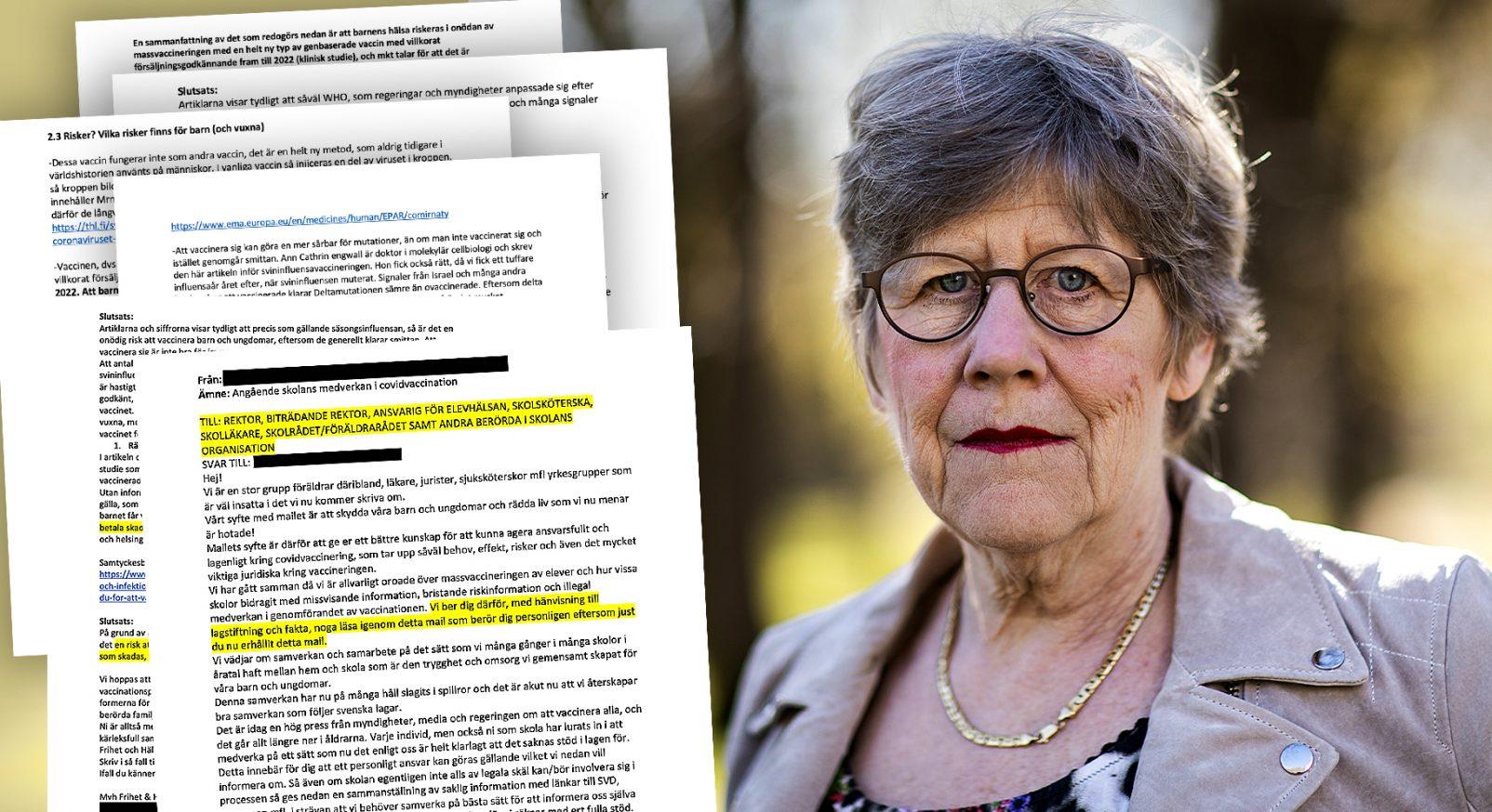 Blurrad Agnes Wold vaccin