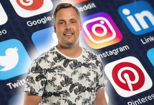 Jesper Rehn sociala medier