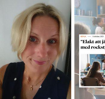 Malin Nyberg debatt replik