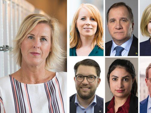 Åsa Fahlén, partiledare
